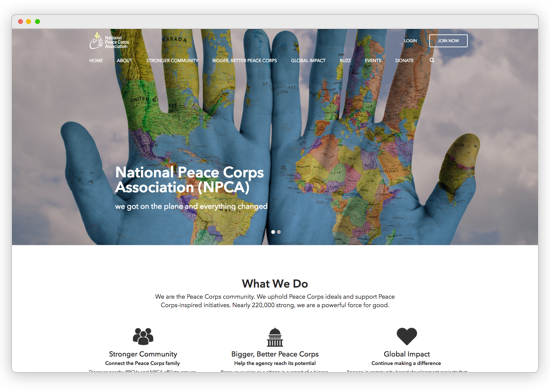 Modern, responsive, attractive websites for associations and member based organizations