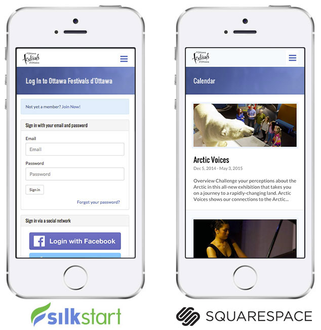 SilkStart is responsive and mobile friendly, just like wordpress