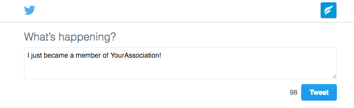 click to tweet association marketing